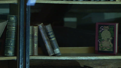 Ancient library of the Footage