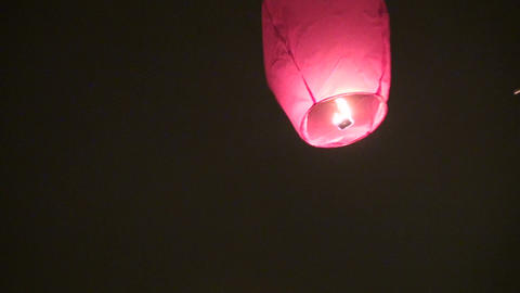 Paper lantern Stock Video Footage
