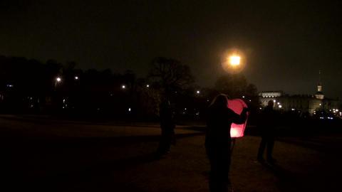 Paper lantern Stock Video Footage