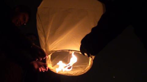 Paper lantern Footage