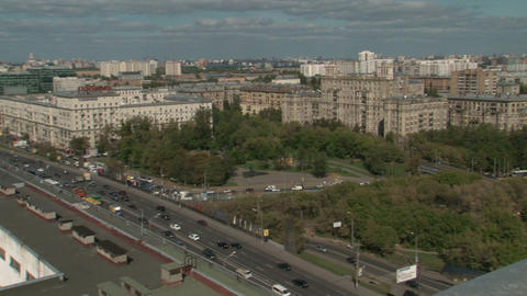 Moscow city Stock Video Footage