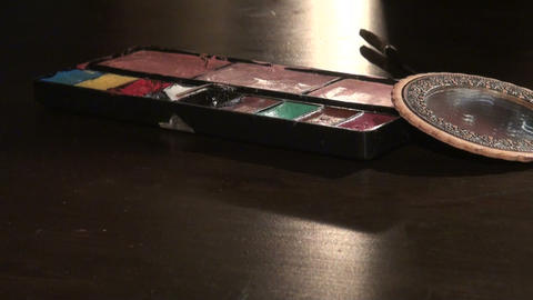 Theater makeup Footage