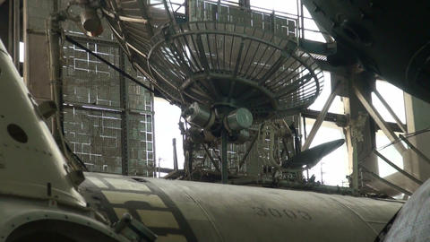 Module of the spacecraft Footage