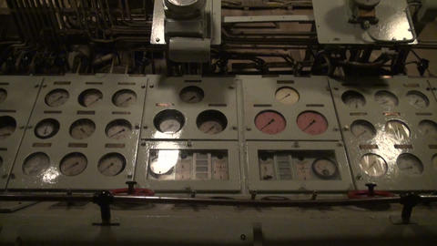Control of ship devices Stock Video Footage