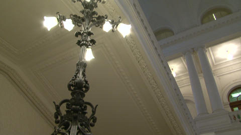 Antique Chandelier stock footage