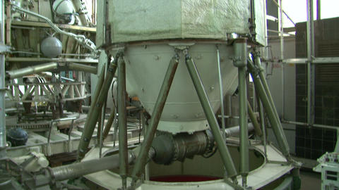 Module of the spacecraft Stock Video Footage