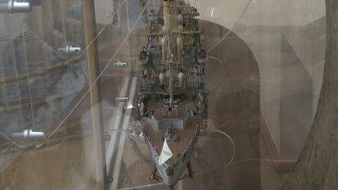 Model of the ship Footage