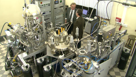 Laboratory of nanotechnologies Stock Video Footage