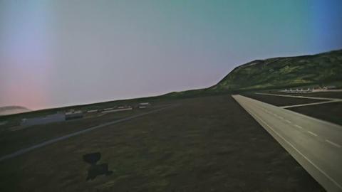 Aviation simulator Stock Video Footage