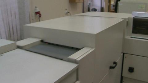 Printing machine Stock Video Footage