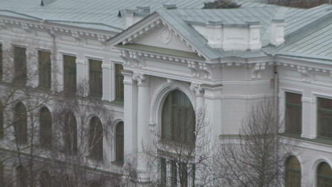 Polytechnic institute in st. Petersburg Stock Video Footage