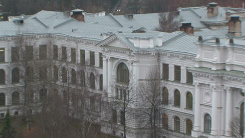 Polytechnic institute in st. Petersburg Footage