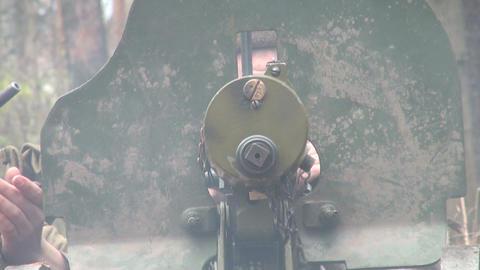 """Machine-Gun Maksim"""""""" Footage"""