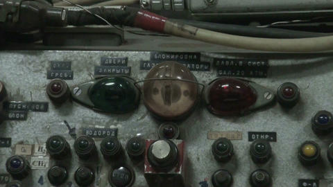 The old control panel Footage