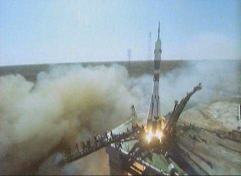Ballistic missile Footage