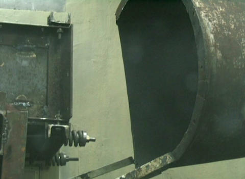 The rocket engine Stock Video Footage
