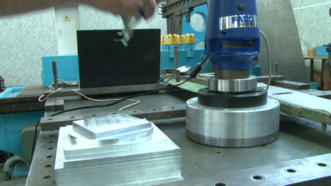 Measurement of the details Stock Video Footage