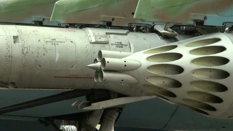 Armament combat aircraft Stock Video Footage