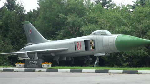 Combat Aircraft of the SU-15 Stock Video Footage