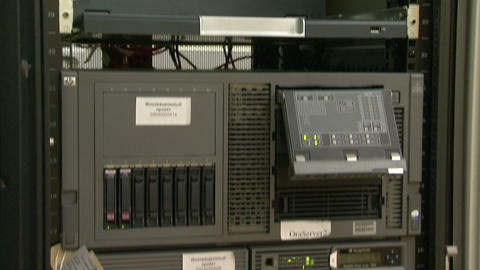 A system block of the computer, server Stock Video Footage