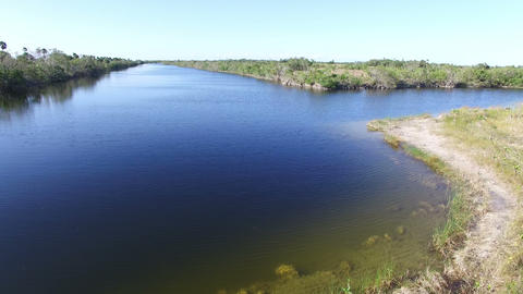 03 Canal Everglades 4K Footage