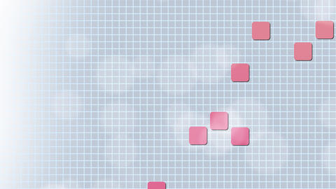 Pink Squares on Blue Background CG動画素材