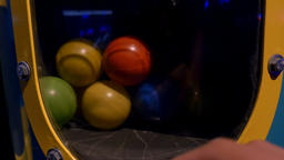 Bright Colorful Balls Bouncing Live Action