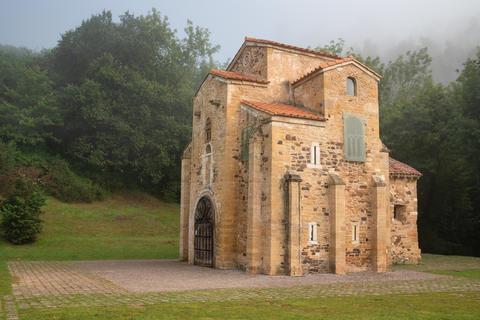 San Miguel de Lillo, Oviedo, Spain フォト