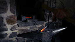 Blacksmith at Work Footage