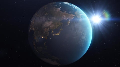 3D Earth 2 CG動画