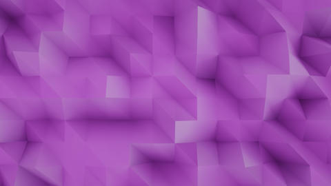 4K Abstract Polygon Background Footage