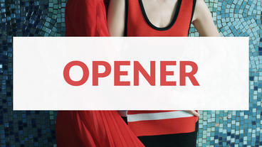 Opener Premiere Pro Template
