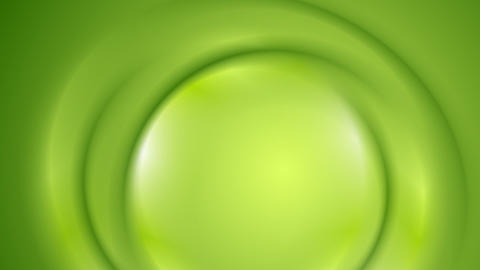 Smooth bright green wavy video animation Animation