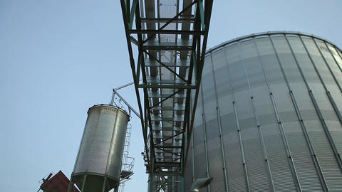 Granary Grain Elevators Footage
