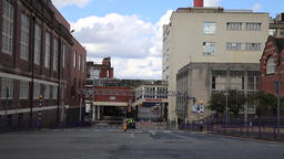 Main Cadbury factory entrance Bournville Birmingham UK 영상물