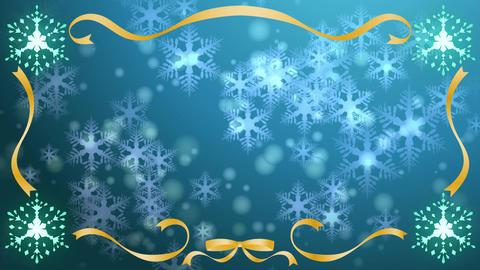 Snow falls frame 3 Animation