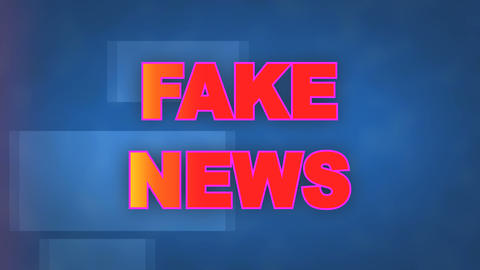 dynamic background animation of the Fake News title page GIF