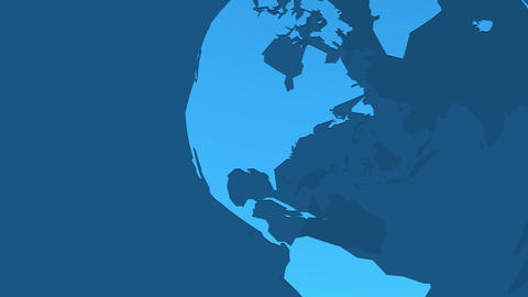 blue earth animation Animation