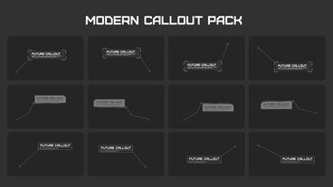 Modern Callout Pack After Effectsテンプレート