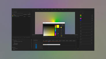 Gradient Controller Motion Graphics Template