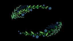 Floral Wreath Set (5) Animation