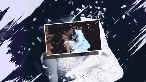 Romantic Elegant Wedding Slideshow CS5.5 After Effects Template