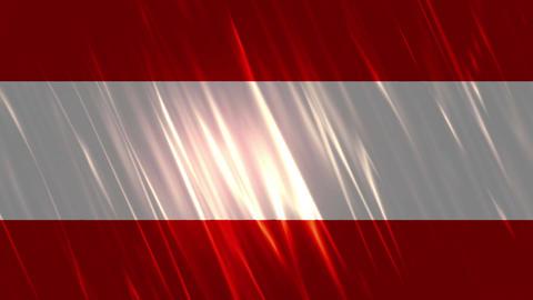 Austria Flag Loopable Background Animation