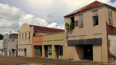 Abandoned Businesses And Buildings In Downtown Natchez Mississippi United States GIF