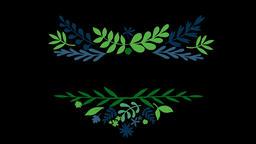 Floral Wreath Set (7) Animation