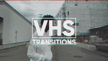 VHS Transitions Plantilla de After Effects