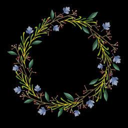 Floral Wreath (6) Animation