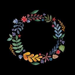 Floral Wreath (10) Animation