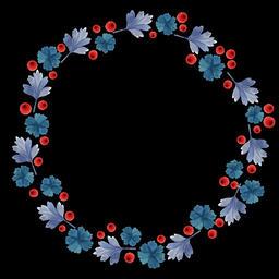 Floral Wreath (14) Animation