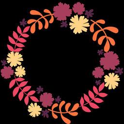 Floral Wreath (15) Animation